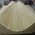 Pattern - 9' Vaulted Ceiling Panel - Pine