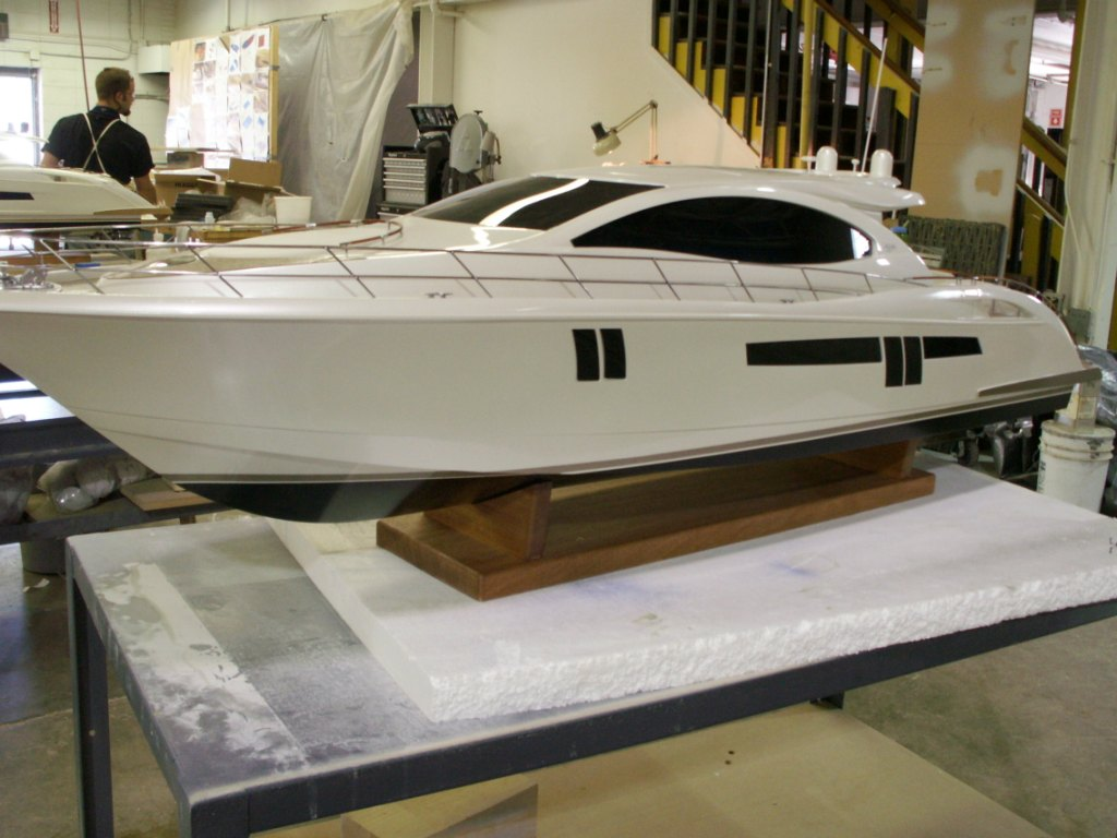 Detailed Yacht Model
