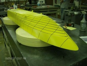 Scale Hull Model for Hydrostatic Tank Testing