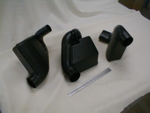 Air Duct Baffles-Vacuum Formed & Fabricated Prototypes