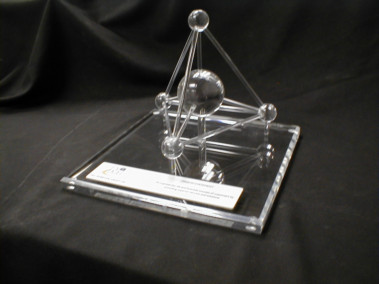 Display Model - Clear Acrylic Fabrication