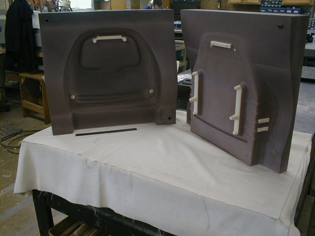 Foam Seat Back - Ren Mold with Plastic Inserts