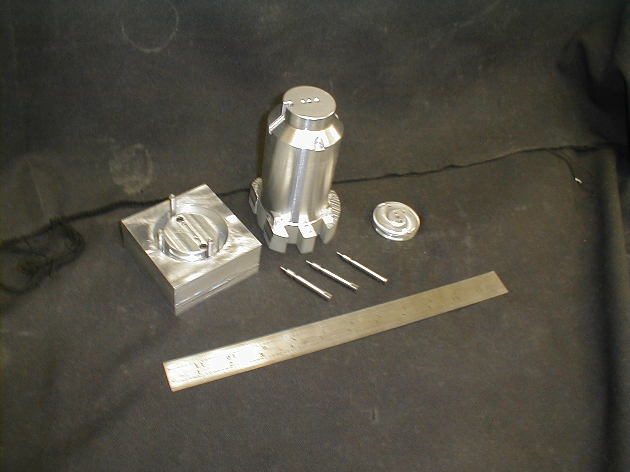 Housing - Aluminum Patterns for RTV Silicone Molding