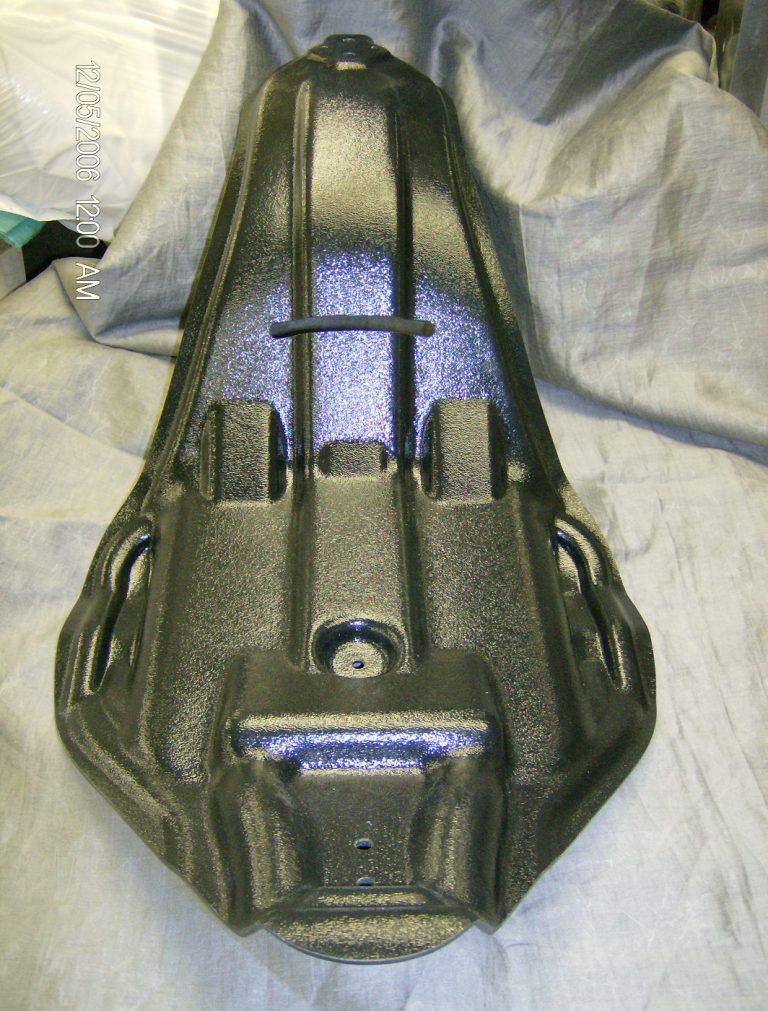 Motorcycle Seat - Vacuum Formed Prototype