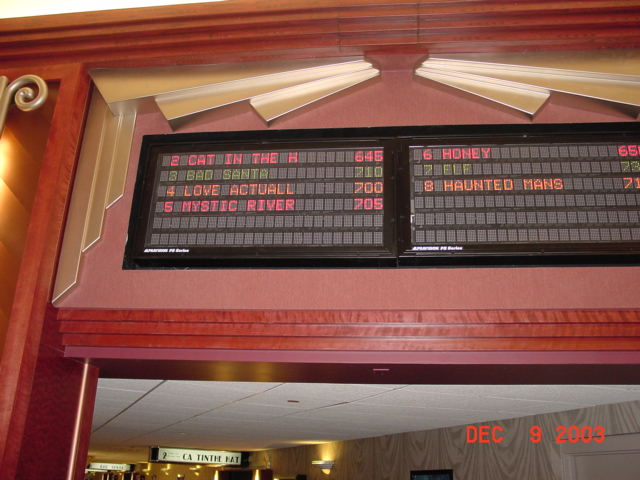 Movie Theater - Vacuum Formed Accents