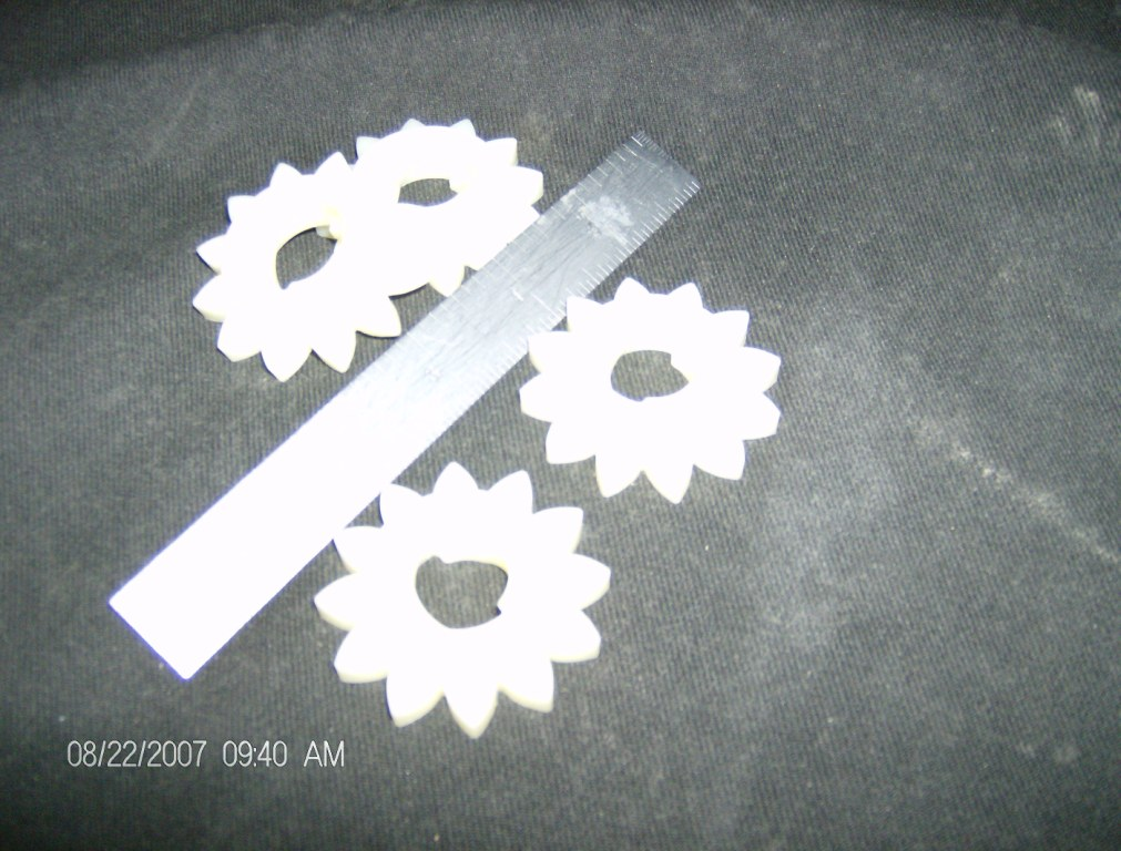 Nylon Gear Prototypes