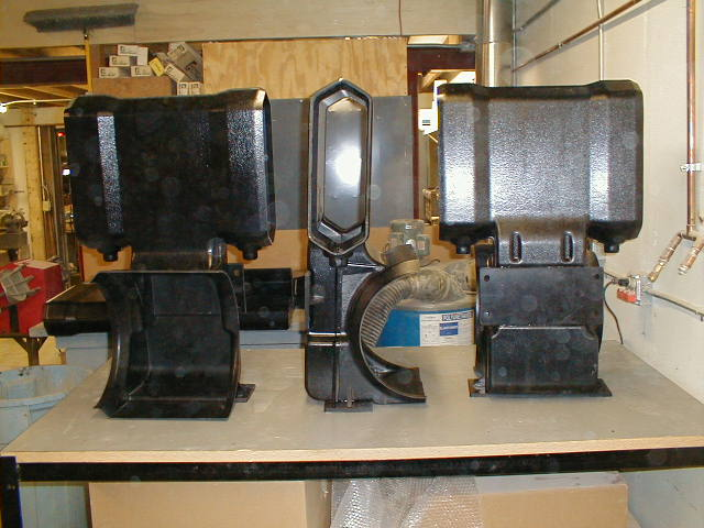 Prototype Vacuum Formed Air Ducts